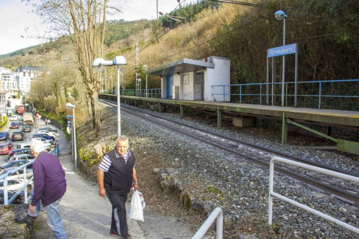 Eusko Trenbide renovará 862 metros de vía en Ermua