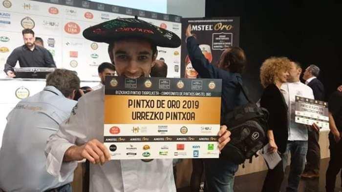 Andoni Pérez del Kiska, Pintxo de Oro 2019 con «Taconazo»