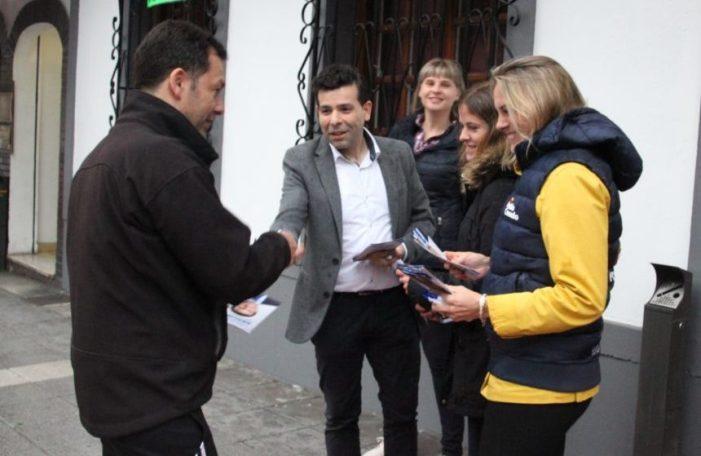 Javier Sánchez «Bizkaia, Ermua y España se están apagando»