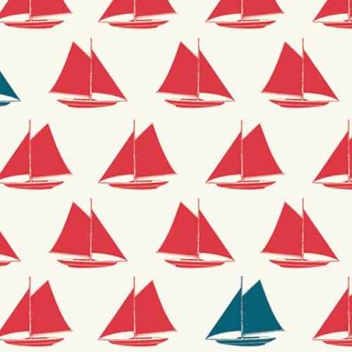 Sailboats Apple Set Sail Birch Fabrics Boxershorts Stoff