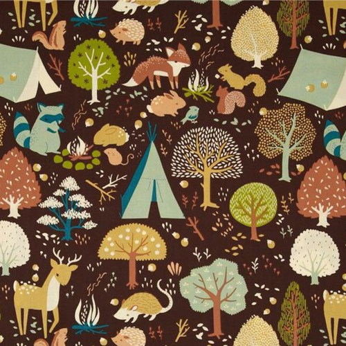 Birch Fabrics Critter Camp Stoff
