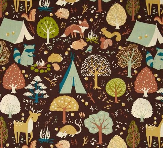 Birch Fabrics Critter Camp Stoff