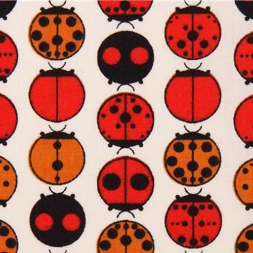 Birch fabrics Charley Harper Ladybugs Boxershorts Stoff erna und gustav