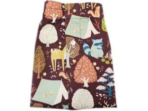 Critter Camp Birch fabrics Organic Cotton
