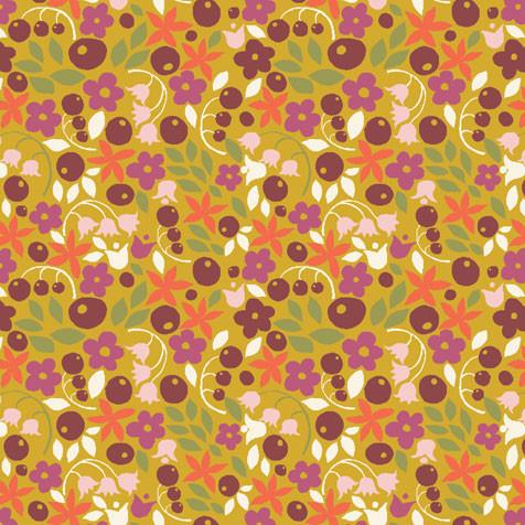 erna&gustav Organic Comfort Clothing– fabric bitty blooms by monaluna