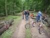 Radeln durch den Taunus-Wald