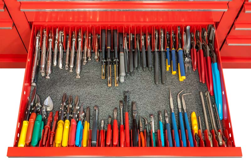 Top 10 Drawer Snap Tool Box