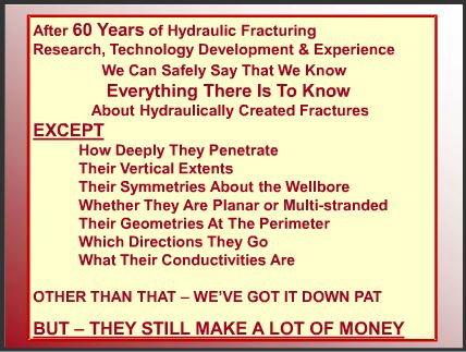 2008 what we don't know about hydraulic fracturing is lot's but they still make a lot of money