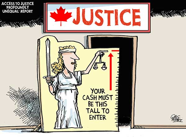 2013 Access to Justice in Canada terribly expensive
