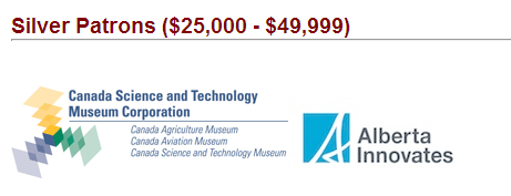 2013 08 22 snap from Canada Science Media Centre showing Alberta Innovates previously the Research Council as funder