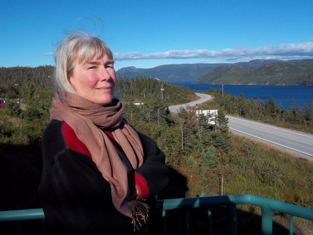 2013 09 20 Newfoundland People's Forum on Fracing looking out over Woody Point