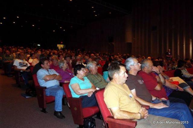 2013 09 22 Stephenville People's forum audience