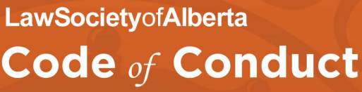 2014 11 Law Society of Alberta, Code of Conduct