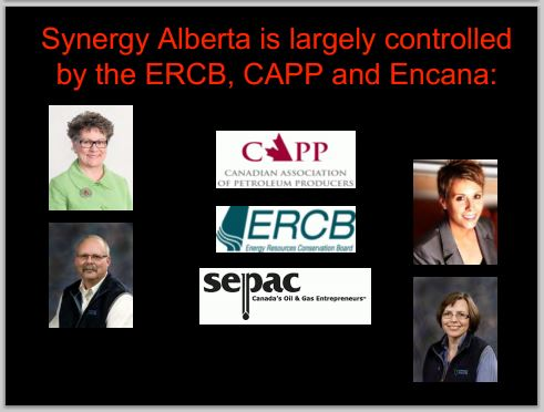 2014 05 24 snap Countenay presentation by Ernst Synegy Alberta mostly funded by CAPP encana ERCB AER