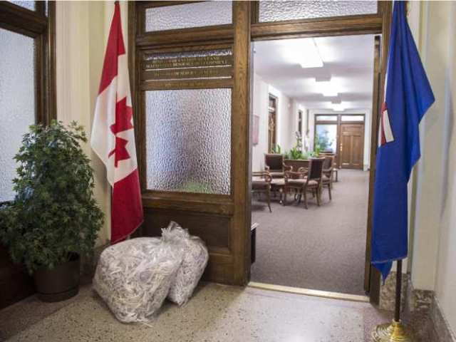 2015 05 06 edmonton-ab-may-6-2015-a-couple-bags-of-shredded-papers