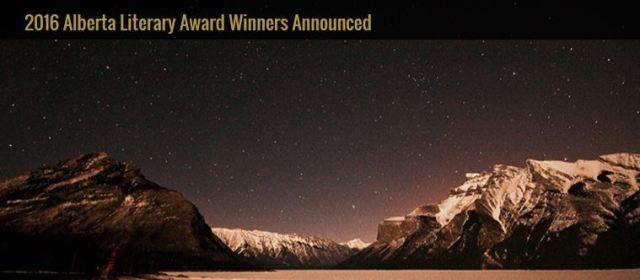 2016 06 04 Alberta Literary Awards Winners Announced, includes Andrew Nikiforuk for Slick Water
