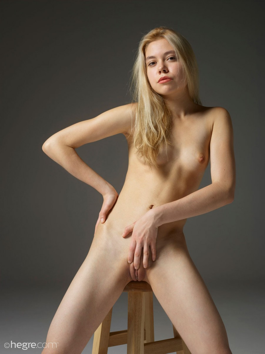 Margot Naked in the Studio