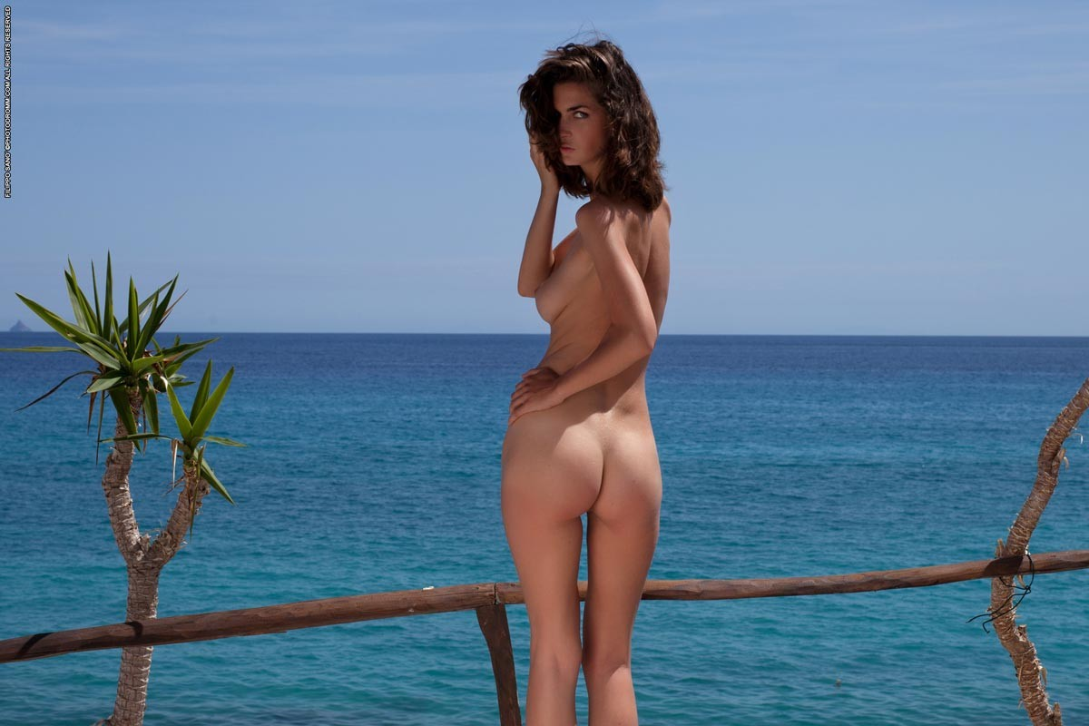 Charlotta Phillip Naked Outdoors