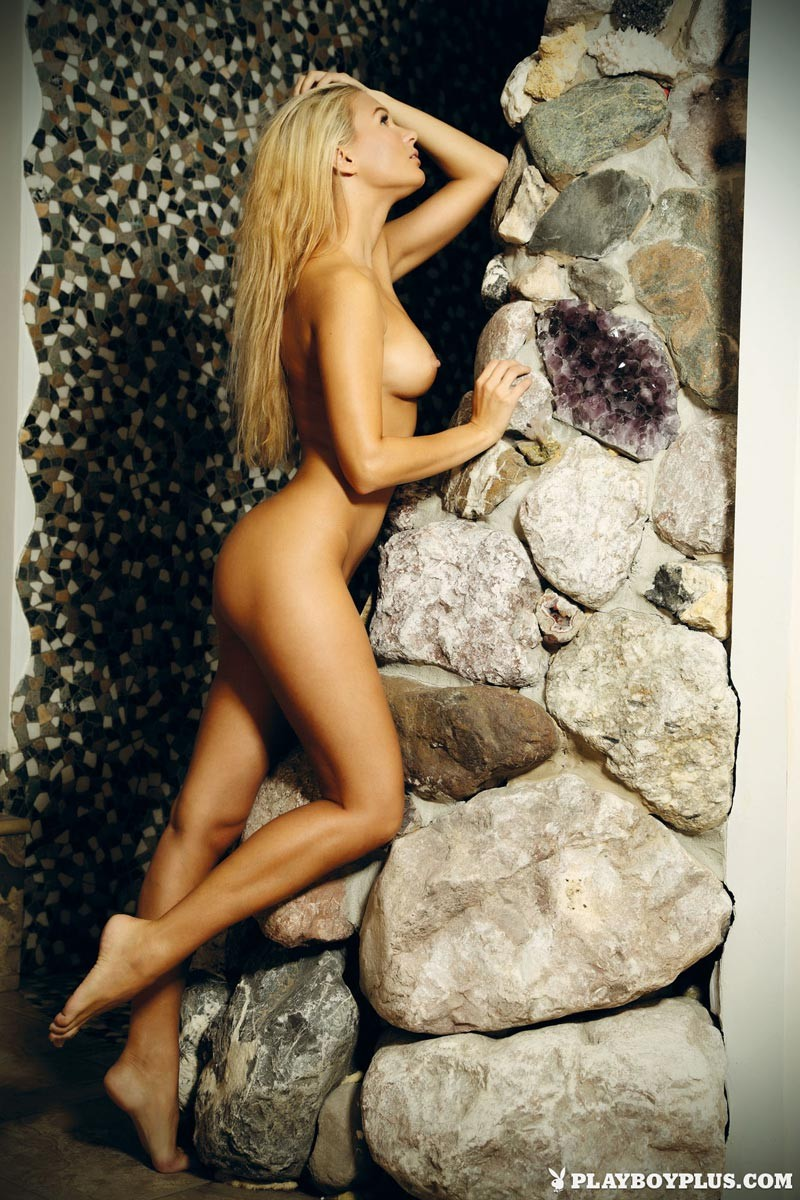 Jana Casova Nude Blonde for Playboy