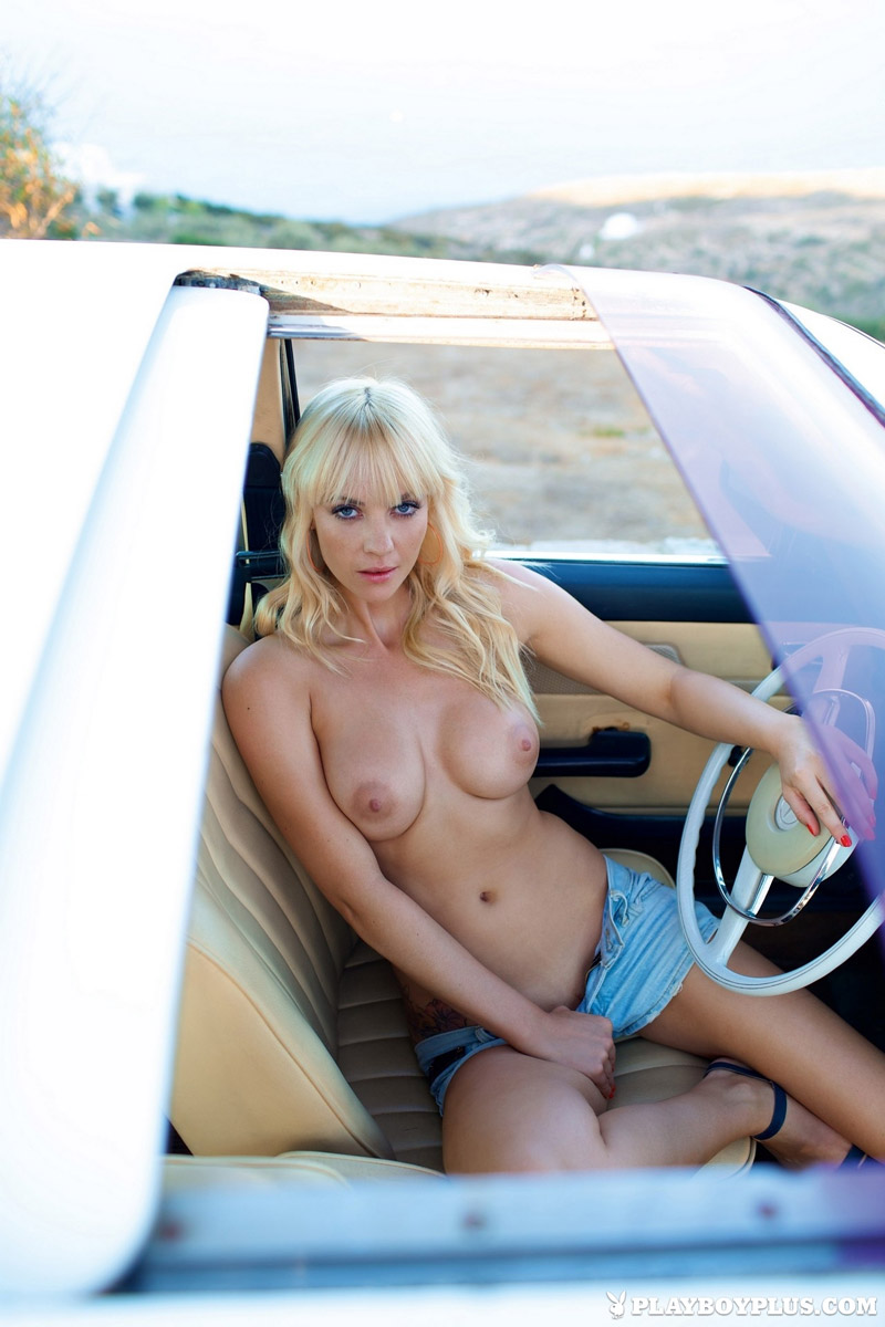 Sarah Domke Naked for Playboy Germany
