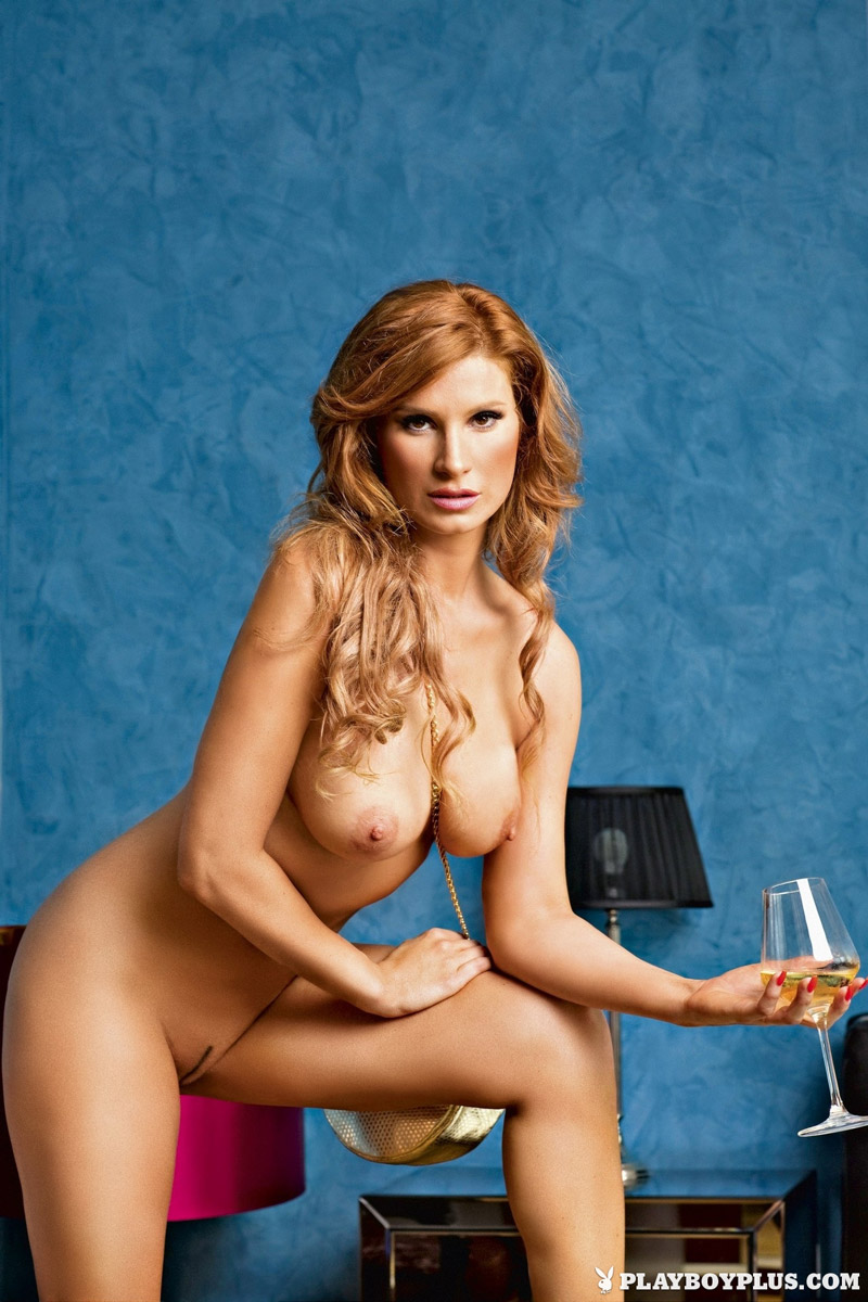 Kataya Naked for Playboy Slovenia
