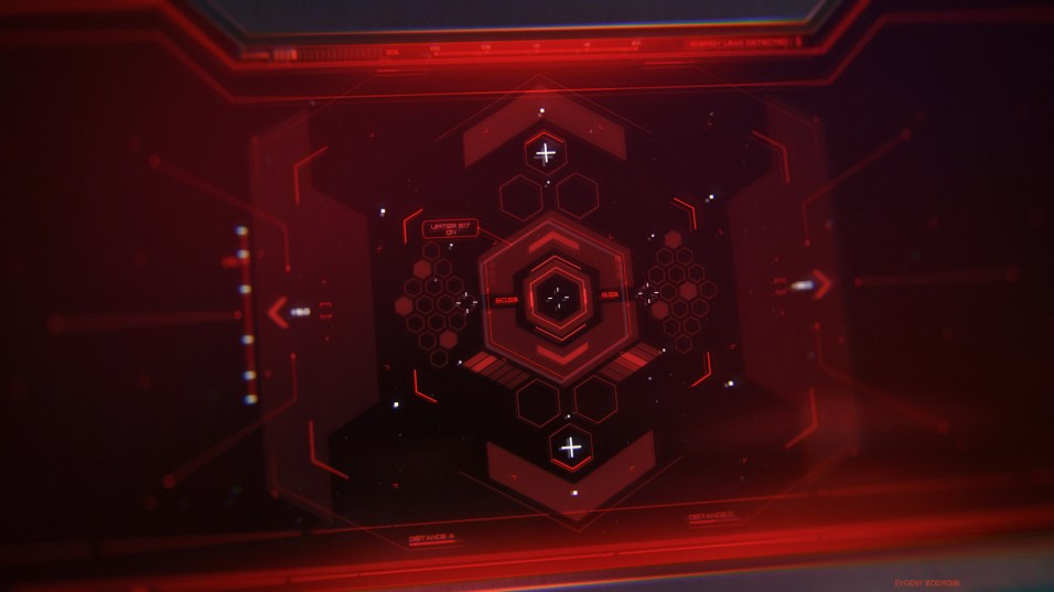 Spacecraft Cockpit - FUI Concept