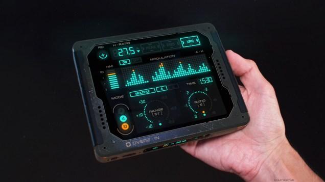 Channel modulation amplifier