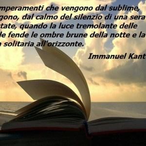 Il bello ed il sublime nelle Osservazioni di Kant