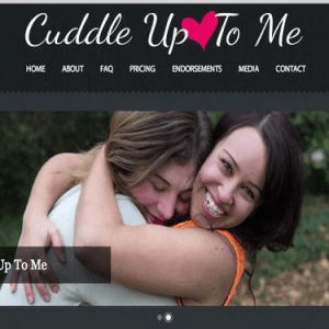 Coccole? Ora sono in vendita al Cuddle Up to Me