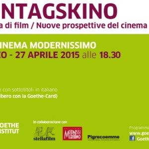 Montagskino: il cinema tedesco al Modernissimo