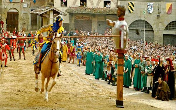 giostra medievale