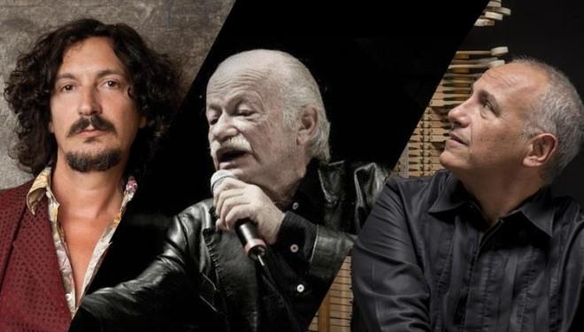 3union: Cammariere, Paoli e Rea in concerto