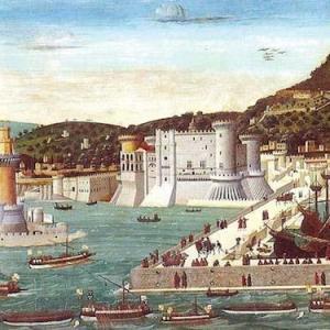 Il Maschio Angioino e il percorso archeologico La linea del tempo