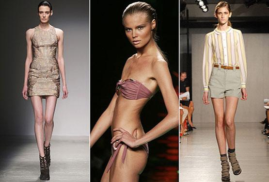 Moda: in vigore in Francia la legge anti-anoressia