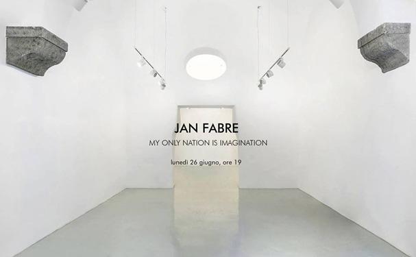 Jan Fabre e il suo eclettismo allo Studio Trisorio