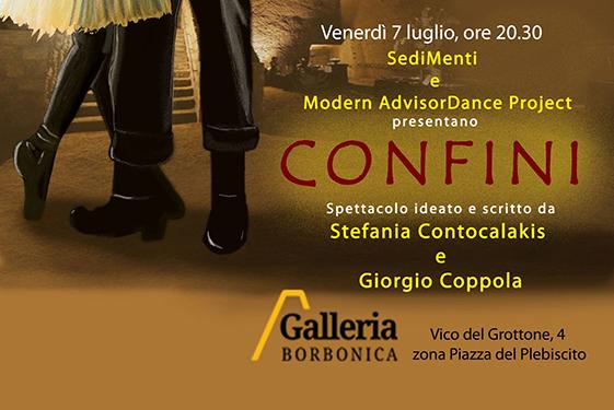 """""""Confini"""", un racconto danzato in scena alla Galleria Borbonica"""