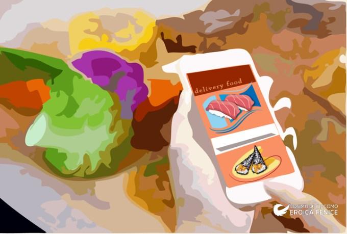 Food delivery, tante app per il cibo a portata di click