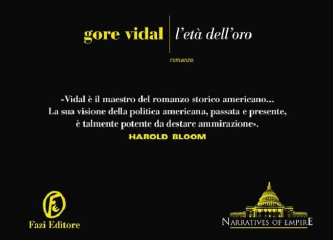 L'età dell'oro: la storia occulta secondo Gore Vidal