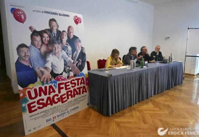 """Sbarca al cinema """"Una festa esagerata"""", ultimo film di Vincenzo Salemme"""