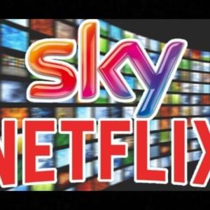 Sky e Netflix stringono l'alleanza che ci terrà incollati al divano