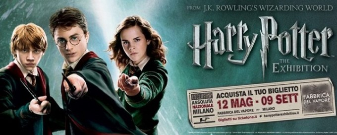 Harry Potter The exhibition arriva a Milano