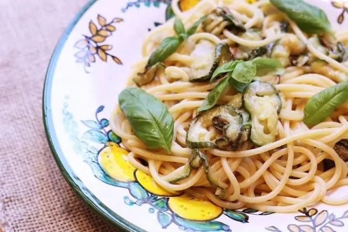 Spaghetto alla Nerano: la ricetta della cucina partenopea