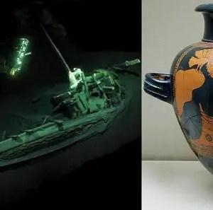 Mar Nero: ritrovato un relitto greco di 2400 anni