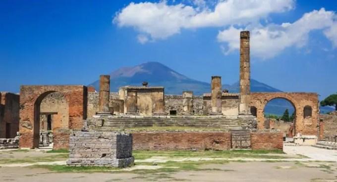 eruzione pompei