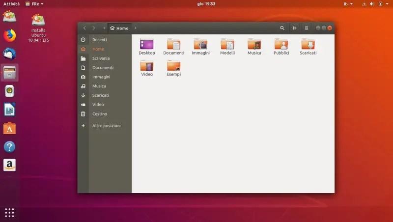Cinque distribuzioni Linux per principianti: Ubuntu Desktop 18.04.1 LTS