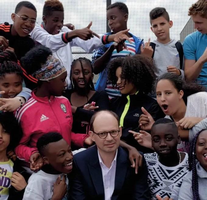 Olivier Ayache-Vidal in Il professore cambia scuola
