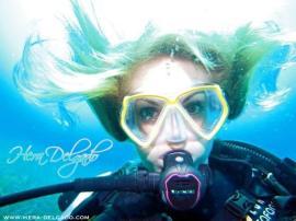 Helga Unterwasser Scuba-Fetisch