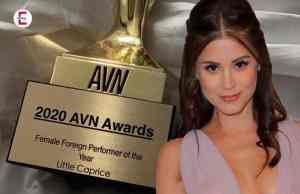 Sexy Import aus Tschechien: Little Caprice gewinnt AVN Awards