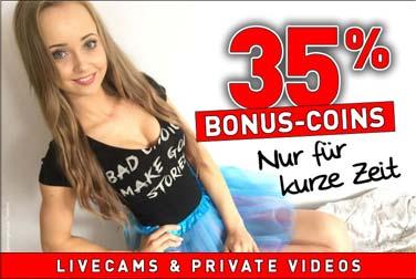 35% Bonus-Coins im gesamten November