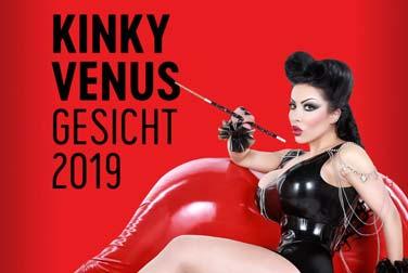 Das Gesicht der Kinky VENUS 2019 fasziniert schon jetzt